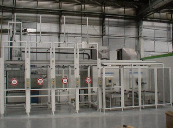 Machine à laver Système de préhension et chargement automatisés