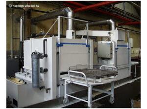 Machine à laver Process Multicabine
