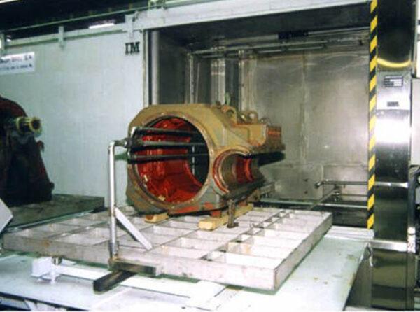 Machine à laver par Aspersion les moteurs